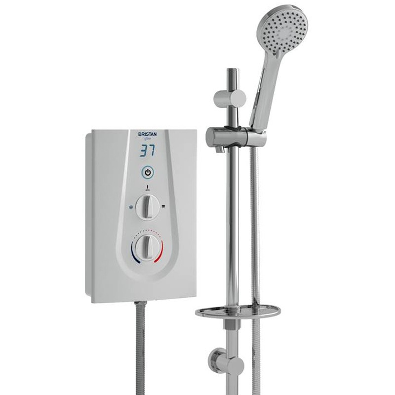 Glee 8.5kW Electric Shower White