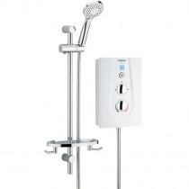 Glee 10.5kW Electric Shower White