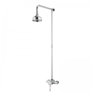 Colonial Thermostatic Shower Valve with Rigid Riser