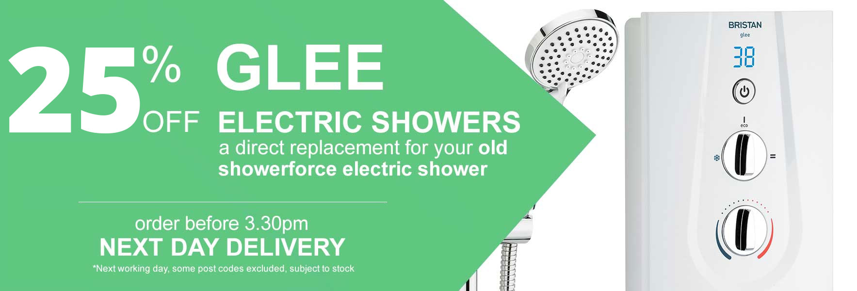 Glee Electric Showers